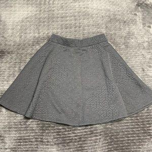Grey Loose Skirt